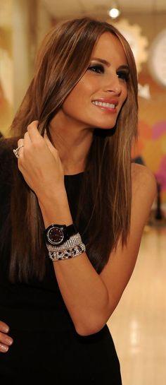 Lux Elegant Opulence — First Lady Melania Trump