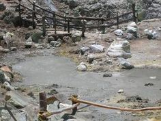 Hot Springs and Mud Bath at Rincón de la Vieja Volcano in Guanacaste, Costa Rica