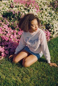 Amandla Stenberg fotografada por Preta Collins