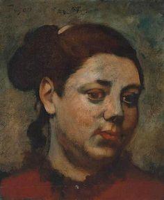 Edgar Degas Edgar Degas, Pierre Auguste Renoir, Canvas Art Prints, Oil On Canvas, Art Uk, Portrait Art, Portraits, Claude Monet, French Artists