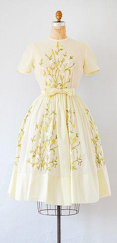 vintage 1950s dress | vintage 50s dress #vintage #1950s