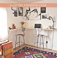 How To: Make a DIY Standing Desk