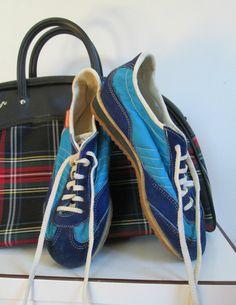 Vintage 1970s Track Sneakers Patrick Made in by rileybella123, $24.00
