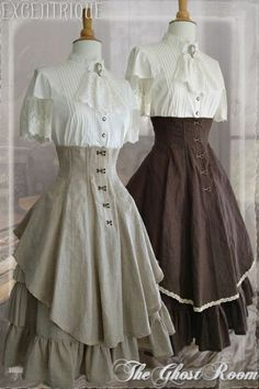Steam up your Halloween with these steampunk costume ideas for women and men. You can either play it safe and pick a complete costume like our favorites below, Steampunk Mode, Victorian Steampunk, Steampunk Costume, Steampunk Clothing, Steampunk Fashion, Victorian Fashion, Vintage Fashion, Steampunk Dress, Victorian Clothing Women