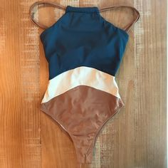 2019 Patchwork One Piece Swimsuit Swimwear High Neck Bodysuit Bathing Suit Women Piece Swimwear Beach Wear Monokini Swimwear One Piece Slimming, One Piece Bikini, One Piece Swimwear, Bikini Set, Monokini, Vetements Clothing, High Neck One Piece, Blue One Piece, Neck Piece