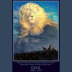 My homage to Cecil the lion. #cecil #cecilthelion #Thelionking