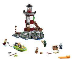 437 Pcs/set Bela 10431 Compatible With Lepin Scooby Doo Haunted Lighthouse 75903 Building Blocks Bricks Best Toys For Children Lego Scooby Doo, Scooby Doo Dog, Lego Batman, Lego Marvel, Spiderman, Building For Kids, Building Toys, Lego Star Wars, Mr Brown