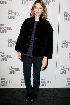 Sofia Copoola on the red carpet
