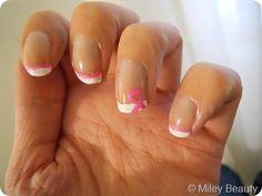 Nail Art Tuesday: Pink Ribbon French