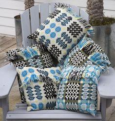 Welsh blanket cushions