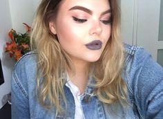 Grey Lipstick Grey Lipstick, Fashion, Moda, Fashion Styles, Fashion Illustrations