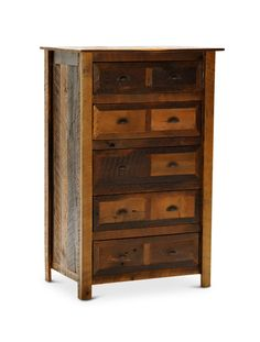 Barnwood 5 Drawer Chest | HOM Furniture | Furniture Stores in Minneapolis Minnesota & Midwest