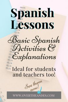 Beginner Spanish Lessons - Over The Andes