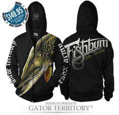Fishing-Clothing-FISHBUM-Esox-Pike-Musky-Gator-Territory
