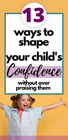 Super simple and easy to implement tips for how to raise confident kids with high self-esteem Gentle Parenting, Parenting Advice, Kids And Parenting, Natural Parenting, Teaching Kids, Kids Learning, How To Ease Anxiety, Health Activities, Family Activities