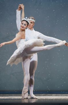 San Francisco Ballet, snow. They were beautiful.
