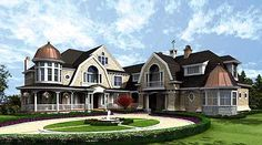 Plan W23220JD: Premium Collection, Northwest, Luxury, Country, Craftsman, Photo Gallery, Corner Lot, Cape Cod, Shingle Style House Plans & Home Designs