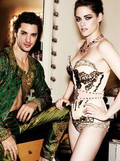 Fashion Editorial | High Glamour - DustJacket Attic