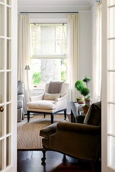 Natural light, French doors