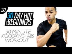 30 Min. Cardio Kickboxing Workout for Beginners + Abs | Beginner HIIT #20 - YouTube
