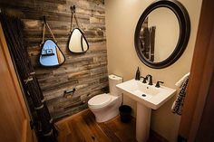 17 Simple Ways to Beautify a Small Bathroom Without Remodeling: Doable Reclaimed Wood Wall