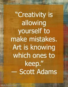 Positive Quotes Artchoo! contagious art and design for kids Positive Quotes n Description We love this beautiful quote from #ScottAdams about #creativityandart