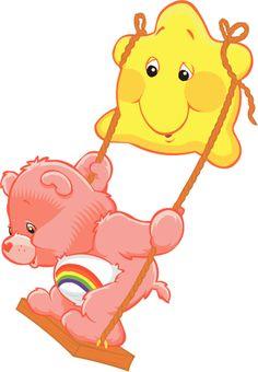 "Care Bears Cheer Cartoon Kids Car Bumper Sticker 4"" x 5"" ID 4 | eBay"