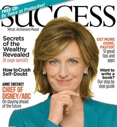 This week's Boss Mom pin is the Success Magazine. It's a great publication with lots of success tips, business advice, and personal development. Anne Sweeney, Success Magazine, Confidence Boosters, Reaching For The Stars, Inspirational Videos, Business Advice, How To Stay Motivated, Mom Blogs, Writing A Book