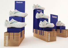 Reebok POS by Bruna Marques, via Behance