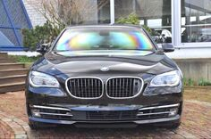 Gepantserde BMW 760Li is dik, staat in Nederland te koop