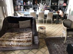 Colocación de suelo en espiga en el comedor, dormitorio y despacho