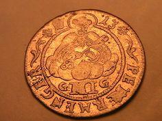1713 German States TRIER 3 Petermenger XF Frosty PL Deutsche 3P Silver Coin