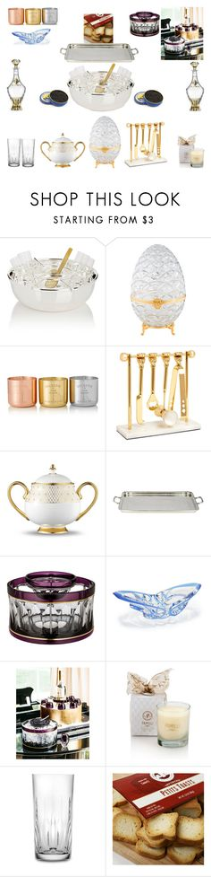 """""""Serve caviar at New Year's party"""" by stylev ❤ liked on Polyvore featuring interior, interiors, interior design, home, home decor, interior decorating, Barneys New York, Fabergé, Tom Dixon and KORS Michael Kors"""