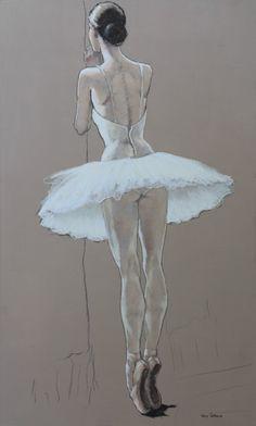 Katya Gridneva, 64 x 104 cm, pastel on board, Waiting backstage, – Katya Gridneva Ballet Drawings, Dancing Drawings, Art Drawings, Ballet Art, Ballet Dancers, Pastel Drawing, Pastel Art, Figure Painting, Figure Drawing