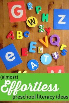 Preschool literacy i