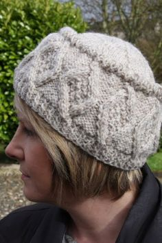 Beanie hats knit up fairly quickly and are dense enough to keep the chill at bay in wintertime.