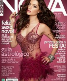 Aline Moraes na Capa da NOVA