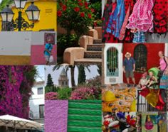 In Pursuit of the Muse: Colours of Spain