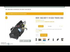 New Instructional on How to Rent a Golf Travel Bag and Make Your Life Easier Golf Travel, Travel Bag, Travel Tips, Golf Tips, Online Bags, Life, Travel Advice