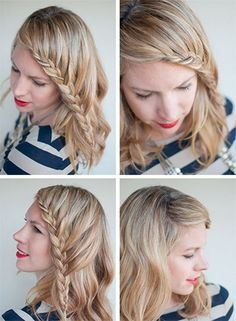 French Braid Bangs | #Hairstyles #FrenchBraid @latesthair