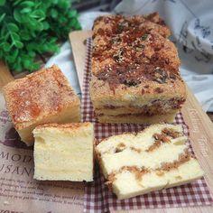 Baking Taitai 烘焙太太: Taiwanese Traditional Sponge Cake - Cheese / Pork Floss 台湾古早味蛋糕 - 芝士 / 肉松 (中英加图对照食谱)