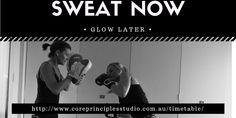 Jump start your work week @ Core: 6 am MMA am Boxing am Yin Swing 6 pm Define pm Amazeballs Monday Inspiration, Work Week, Boxing Workout, You Working, Mma, Routine, Core, Boxing Training Workout, Boxing Training