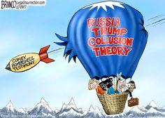 Political Cartoon: Hot Air Disaster - BB4SP