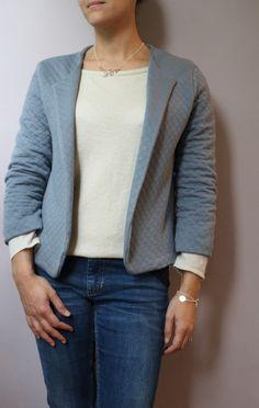October's Jacket par le coussin du singe - thread&needles