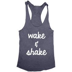 Barre until you shake, that is how you get results. All of our clothing is made in Worldwide Responsible Accredited Production (WRAP) certified facilities and printed using water based inks that are a