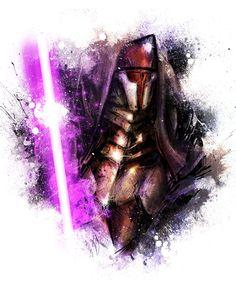 VVernacatola Art: Darth Revan (Star Wars, Old Republic)