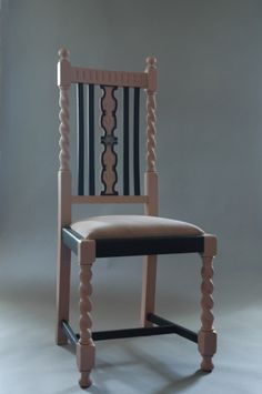 Vintage Restored Moi Boudoir Chair - GHOST FURNITURE