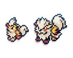 Pokemon X y Y Perler Xerneas / Yveltal / por ShowMeYourBits
