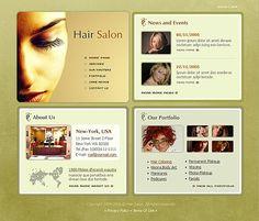 Hair Salon SWiSH Templates by Delta