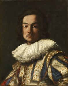 Carlo Dolci, Portrait of Stefano Della Bella, 1631, oil on panel,Pitti Palace, Galleria Palatina, Florence.